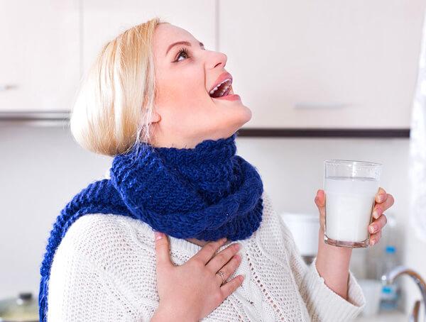 Как лечить горло 2 года в домашних условиях